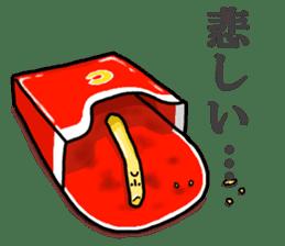 Hamburger Boy sticker #11092634