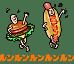 Hamburger Boy sticker #11092636