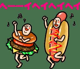 Hamburger Boy sticker #11092637