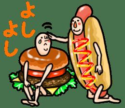 Hamburger Boy sticker #11092639