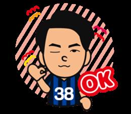 GAMBA OSAKA players Sticker sticker #11096880