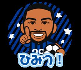GAMBA OSAKA players Sticker sticker #11096881