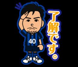 GAMBA OSAKA players Sticker sticker #11096883