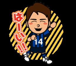 GAMBA OSAKA players Sticker sticker #11096886