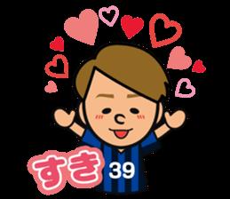 GAMBA OSAKA players Sticker sticker #11096888