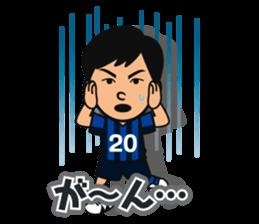 GAMBA OSAKA players Sticker sticker #11096889