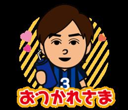 GAMBA OSAKA players Sticker sticker #11096892