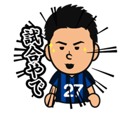 GAMBA OSAKA players Sticker sticker #11096894
