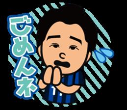 GAMBA OSAKA players Sticker sticker #11096899
