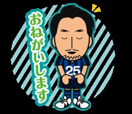 GAMBA OSAKA players Sticker sticker #11096900