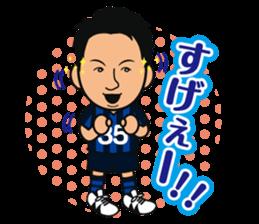 GAMBA OSAKA players Sticker sticker #11096902