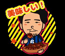 GAMBA OSAKA players Sticker sticker #11096905