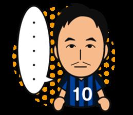 GAMBA OSAKA players Sticker sticker #11096908