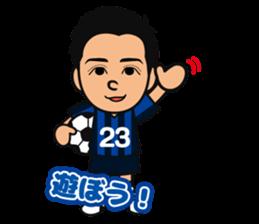GAMBA OSAKA players Sticker sticker #11096910