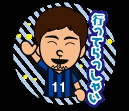 GAMBA OSAKA players Sticker sticker #11096912