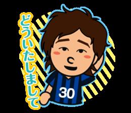GAMBA OSAKA players Sticker sticker #11096913