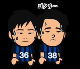 GAMBA OSAKA players Sticker sticker #11096918