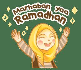 Annisa Hijab Girl : Ramadhan Edition sticker #11097120