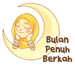Annisa Hijab Girl : Ramadhan Edition sticker #11097121