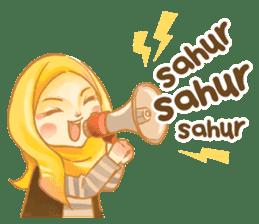 Annisa Hijab Girl : Ramadhan Edition sticker #11097122