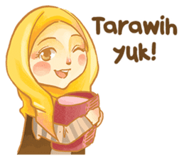 Annisa Hijab Girl : Ramadhan Edition sticker #11097125