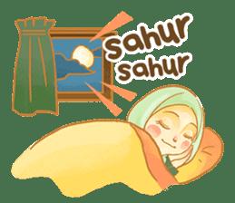 Annisa Hijab Girl : Ramadhan Edition sticker #11097126