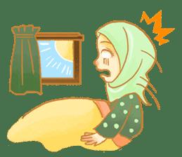 Annisa Hijab Girl : Ramadhan Edition sticker #11097127