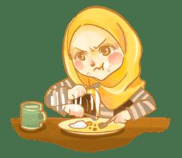 Annisa Hijab Girl : Ramadhan Edition sticker #11097129