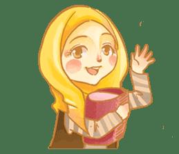 Annisa Hijab Girl : Ramadhan Edition sticker #11097131
