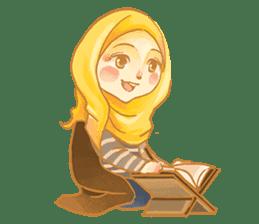 Annisa Hijab Girl : Ramadhan Edition sticker #11097132