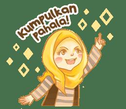 Annisa Hijab Girl : Ramadhan Edition sticker #11097133