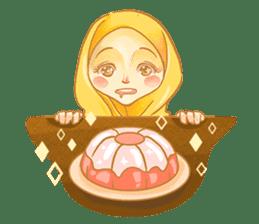 Annisa Hijab Girl : Ramadhan Edition sticker #11097137
