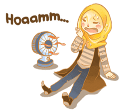 Annisa Hijab Girl : Ramadhan Edition sticker #11097138