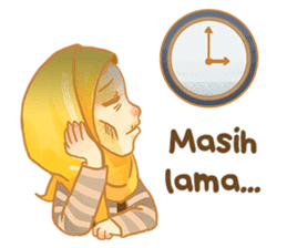 Annisa Hijab Girl : Ramadhan Edition sticker #11097139
