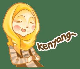 Annisa Hijab Girl : Ramadhan Edition sticker #11097140