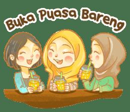 Annisa Hijab Girl : Ramadhan Edition sticker #11097142