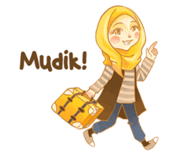 Annisa Hijab Girl : Ramadhan Edition sticker #11097144