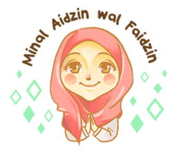 Annisa Hijab Girl : Ramadhan Edition sticker #11097148