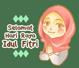 Annisa Hijab Girl : Ramadhan Edition sticker #11097151