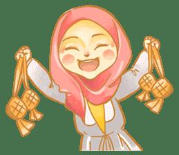 Annisa Hijab Girl : Ramadhan Edition sticker #11097155