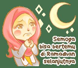 Annisa Hijab Girl : Ramadhan Edition sticker #11097158