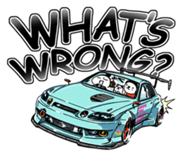 ozizo's Crazy Car Art ver.2 sticker #11104525