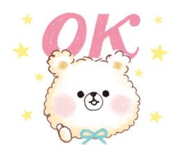 Popcorn Bear friends sticker #11104841