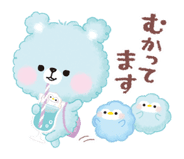 Popcorn Bear friends sticker #11104860