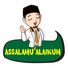 Kang Adil the Wise Moslem sticker #11106360