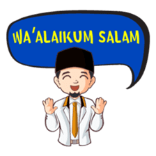 Kang Adil the Wise Moslem sticker #11106361
