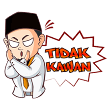Kang Adil the Wise Moslem sticker #11106362