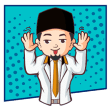 Kang Adil the Wise Moslem sticker #11106376