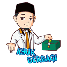 Kang Adil the Wise Moslem sticker #11106377