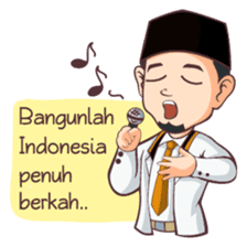 Kang Adil the Wise Moslem sticker #11106378